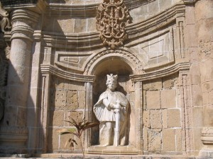 Statue of the Spanish King