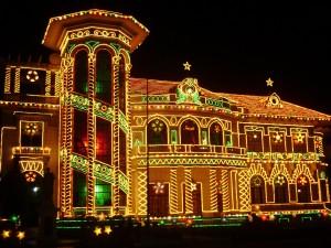 Christmas Lights Music Box