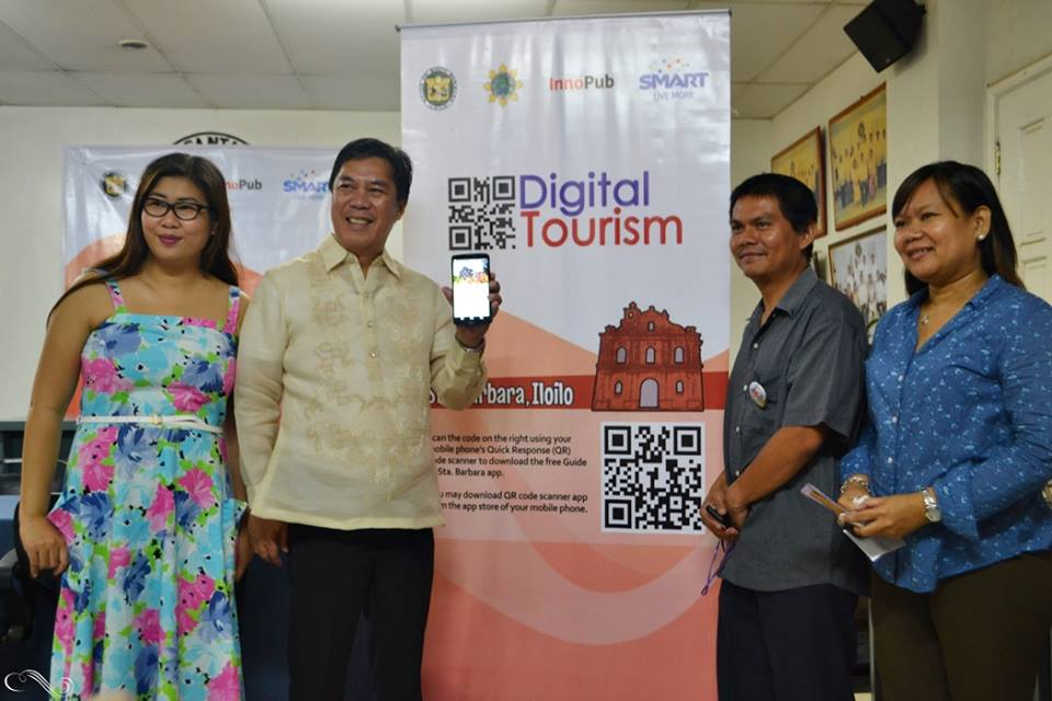 Santa Barbara Mayor with Smart Communications, Inc representative and InnoPub