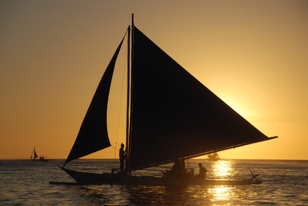 Paraw Sailing | © Ray Caulin