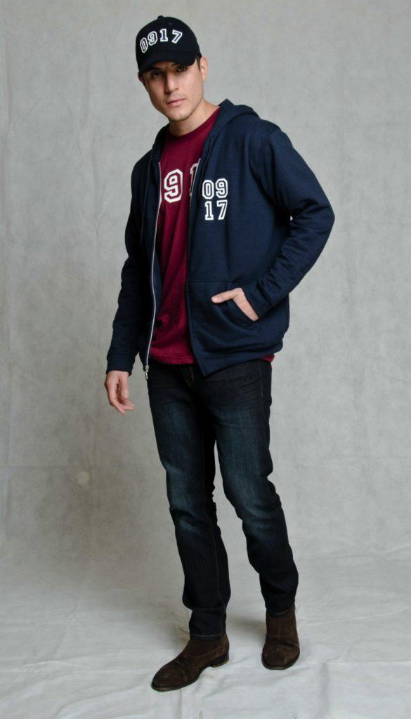 917 Jacket hoodie and cap