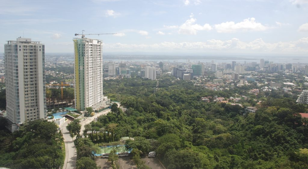 view from marco polo cebu