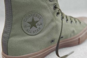 Converse Chuck Taylor All Star II Gumsole Hi in herbal..