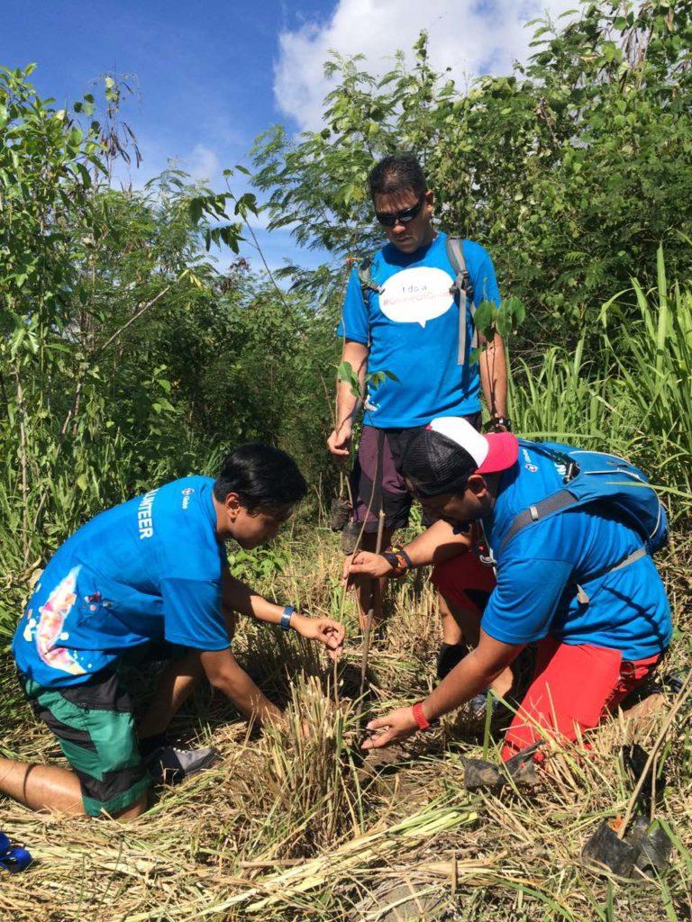 Tree Planting at Mt. Arayat