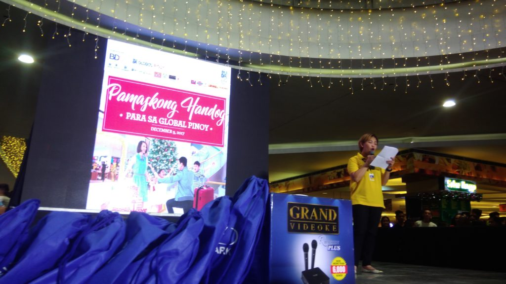 Prizes and gifts from BDO and SM Supermalls